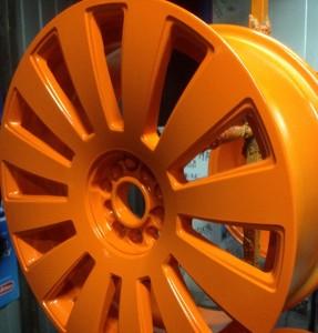Оранжевый комплект дисков